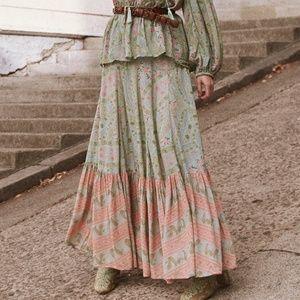 Spell City Lights Maxi skirt BNWT S